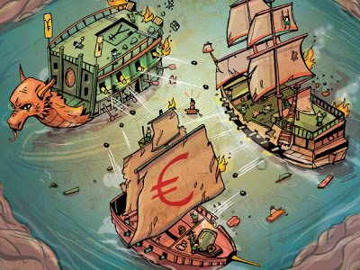 Le Banche Centrali si fanno la guerra prima di crollare