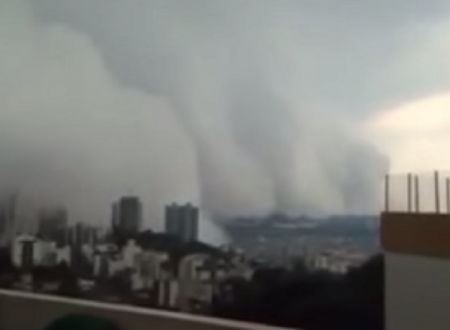 """Il """"nubimoto"""": dall'Arabia al Brasile fenomeni da panico"""