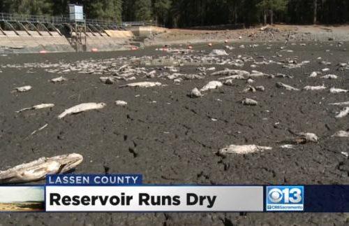California: lago scomparso in una notte