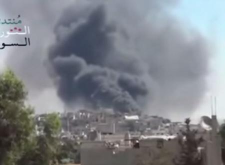 """Raid russi in Siria. Usa: """"non combattono contro l'ISIS""""."""