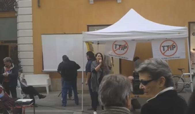 Elena Mazzoni - Stop TTIP