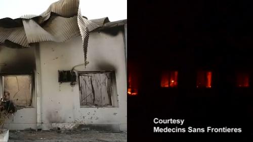 Strage dell'ospedale di Kunduz: USA cancellano le prove