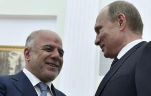 Putin e premier iracheno - N02