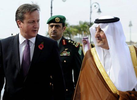Wikileaks: Arabia e Inghilterra barano sui Diritti Umani