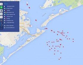 """Troppo petrolio: lo """"parcheggiano"""" in mare"""