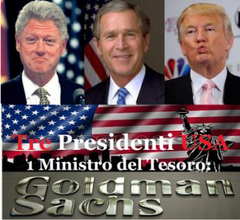 Trump Vs Goldman Sachs: una farsa pazzesca!